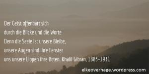 Der Geist Poesie Khalil Gibran Soziale Arbeit Mit Zukunft Und